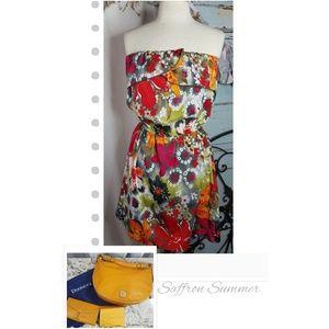 Dresses & Skirts - Floral strapless sundress